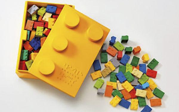 La Fundación Lego ayudará a los niños ciegos a aprender braille con sus piezas