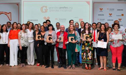 Los VI Premios 'Grandes Profes, Grandes Iniciativas' se consolidan como gran cita educativa