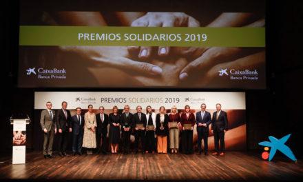 CaixaBank galardona a las Fundaciones Osborne y Konecta en los Premios Solidarios de banca privada