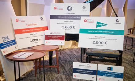 El Corte Inglés y Fundación máshumano premian un proyecto empresarial de personas invidentes