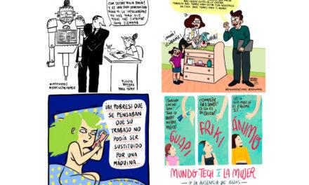 Cuatro humoristas gráficas colaboran con la campaña de sensibilización #14puntos de la fundación Cotec