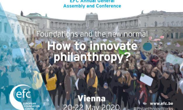 La AEF, en la 31ª Conferencia general del Centro Europeo de Fundaciones