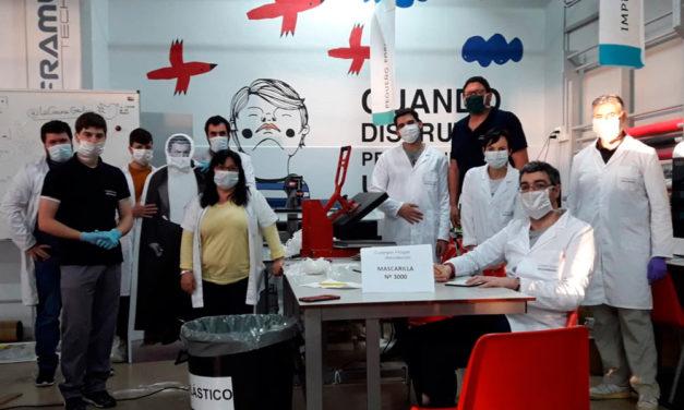 El Colegio Hogar de Afundación, la Obra Social de ABANCA, elabora y entrega a la Xunta de Galicia más de 5000 mascarillas sanitarias