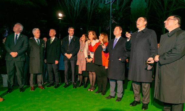 Iberdrola renueva la iluminación de la Basílica Nuestra Señora del Prado