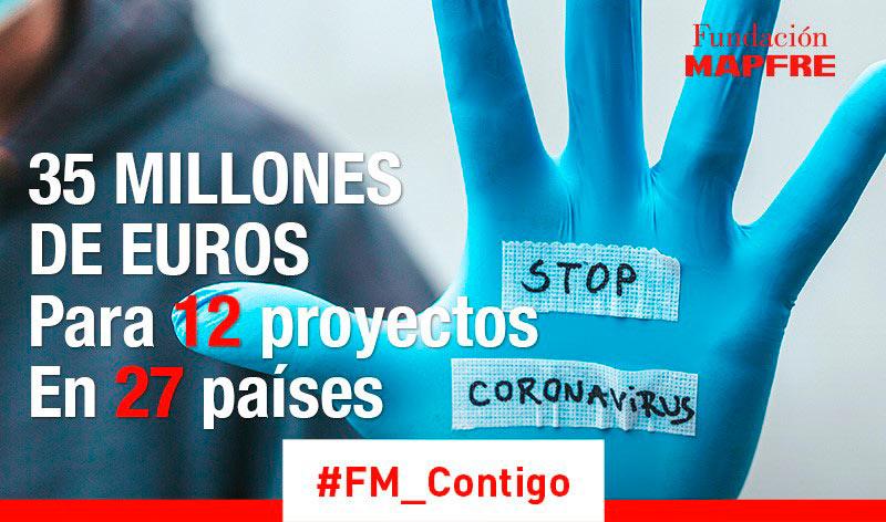 Fundación MAPFRE destina 35 millones de euros a frenar el COVID-19, ayudar a las familias y recuperar el empleo