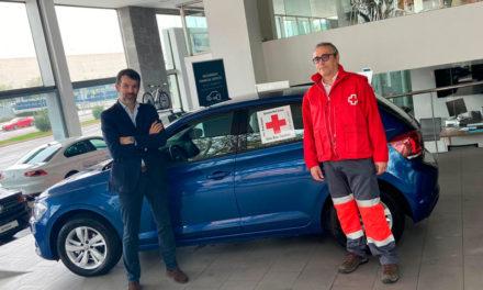 Fundación Ibercaja y Cruz Roja ponen en marcha la campaña #YoCedoMiCoche en Aragón
