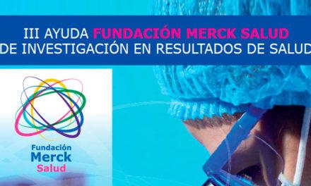 La Fundación Merck Salud convoca la III edición de Investigación en Resultados de Salud