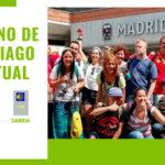 Peregrinos de Down Madrid emprenden por primera vez el Camino de Santiago de forma virtual para evitar riesgos de contagio por COVID-19