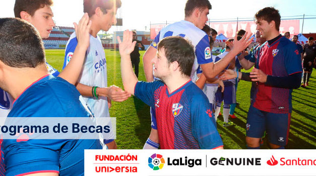 Fundación Universia y Fundación LaLiga convocan una nueva edición de becas formativas para los jugadores y jugadoras de LaLiga Genuine Santander