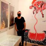 Afundación presenta una antológica sobre el ourensano David Rubín, uno de los nombres imprescindibles de la ilustración contemporánea