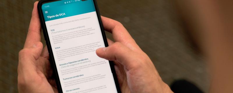 Nace Daño Cerebral App, la primera aplicación que resuelve la falta de información sobre recursos para personas con DCA
