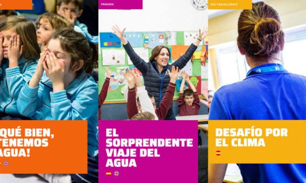 """La Fundación Canal centra su programa educativo """"Canal Educa"""" en el agua y en las soluciones al cambio climático"""