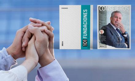 Ya está en kioskos el anuario 101 FUNDACIONES 2020, con el número de noviembre de revista CONSEJEROS