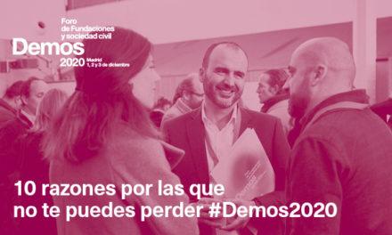 #Demos2020: filántropos, políticos, deportistas, científicos, filósofos, educadores y periodistas, unidos para hacer frente a la crisis del covid