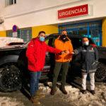 Ford España y el piloto Rubén Gracia: movilidad solidaria frente al temporal de nieve Filomena