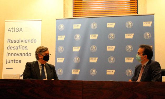 ATIGA e IESIDE firmaron hoy en Vigo un convenio de colaboración académica y profesional