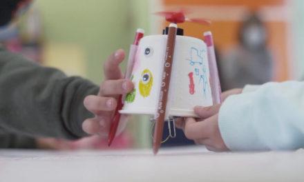 6500 escolares aprenden robótica y programación en el aula STEAM que Afundación lleva a los colegios