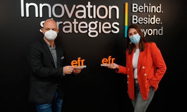 Innovation Strategies se certifica como entidad efr