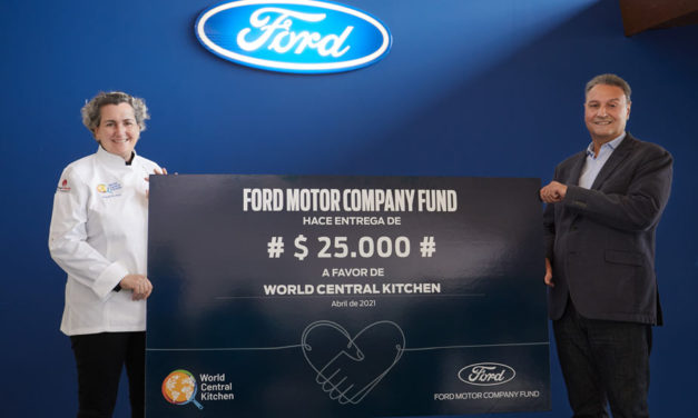Ford Motor Company Fund dona 25.000 dolares a la ONG World Central Kitchen para alimentar a familias en situación de vulnerabilidad