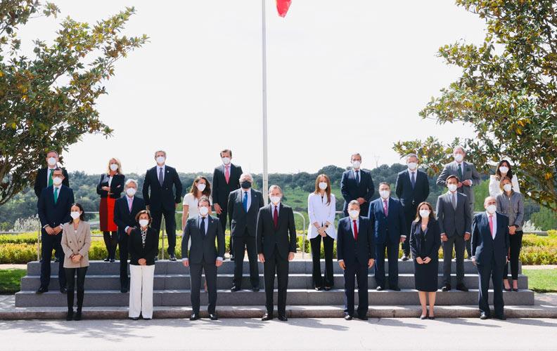 Su Majestad el Rey recibe en audiencia a los presidentes y CEOS del Consejo Empresarial Español para el Desarrollo Sostenible, liderado por Forética