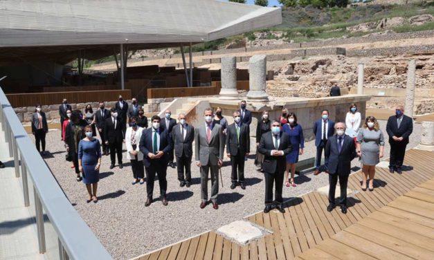 El Rey Felipe VI inaugura el Museo del Foro Romano de Cartagena, un proyecto impulsado por Fundación Repsol