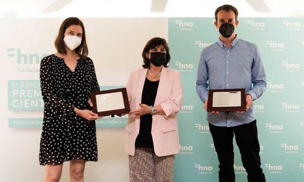Fundación hna otorga su Premio Investigación Científica a dos proyectos referentes a la ELA