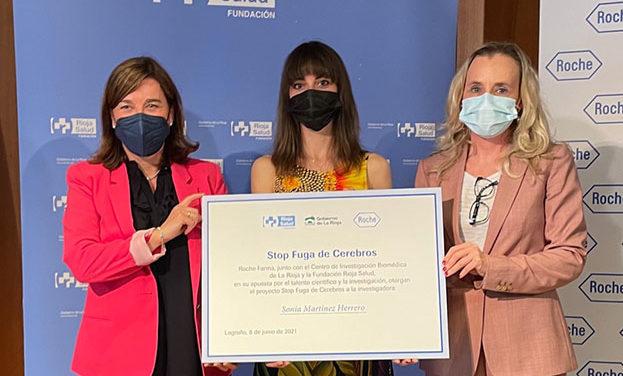Sonia Martínez (CIBIR) recibe la beca 'Stop Fuga de Cerebros' para investigar sobre el diagnóstico precoz del cáncer de páncreas