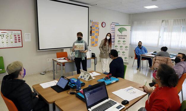 Los alumnos del programa de inclusión escolar de la Asociación Down Málaga y la Fundación Unicaja finalizan el curso académico