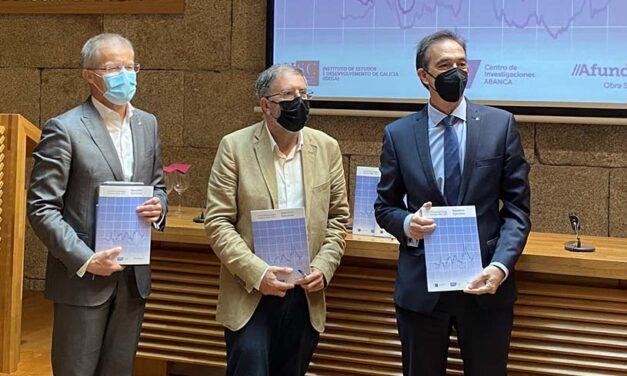 Afundación presenta su estudio 'A Economía Galega. Informe 2020-2021'