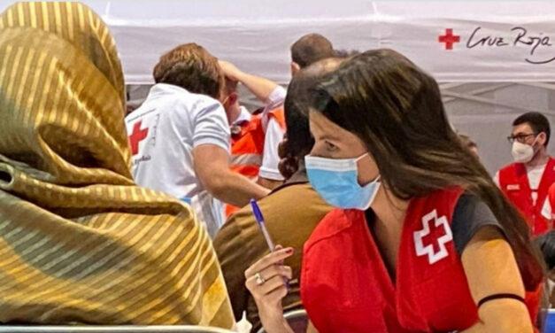 Cruz Roja despliega más de 300 personas en el dispositivo para la acogida de personas refugiadas procedentes de Afganistán