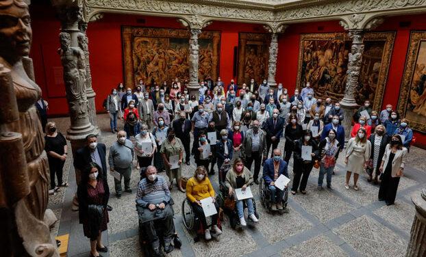 Fundación Ibercaja y Fundación Caja Inmaculada firman acuerdos con las 83 organizaciones sociales seleccionadas este año