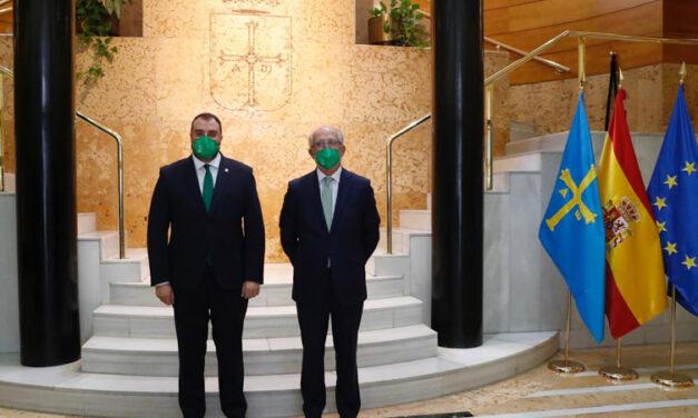 El Gobierno de Asturias y Fundación Repsol se unen para impulsar «Motor Verde», uno de los mayores proyectos de reforestación en España