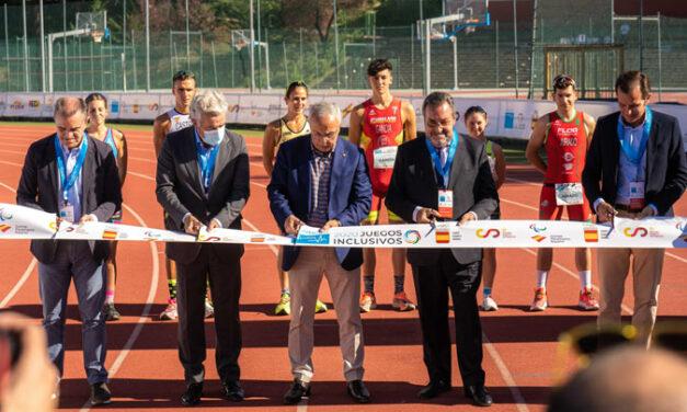 Los primeros Juegos Inclusivos culminan con un oro en igualdad